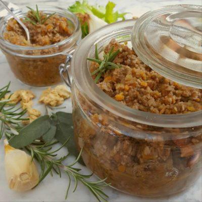ragu vegetale di soia