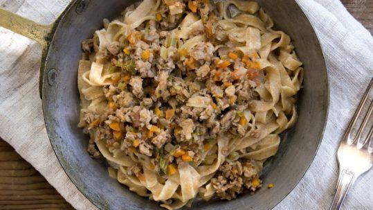 Tagliatelle in tavola - La Cuoca Insolita