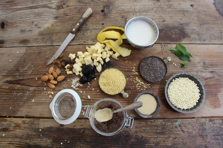 ingredienti colazione sana energetica
