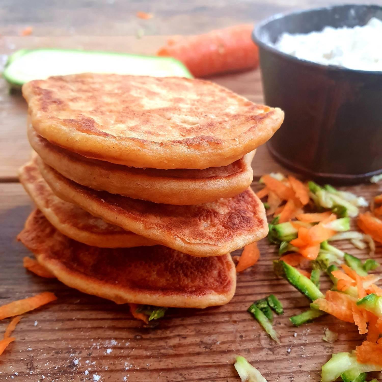 pancakes salati alle verdure