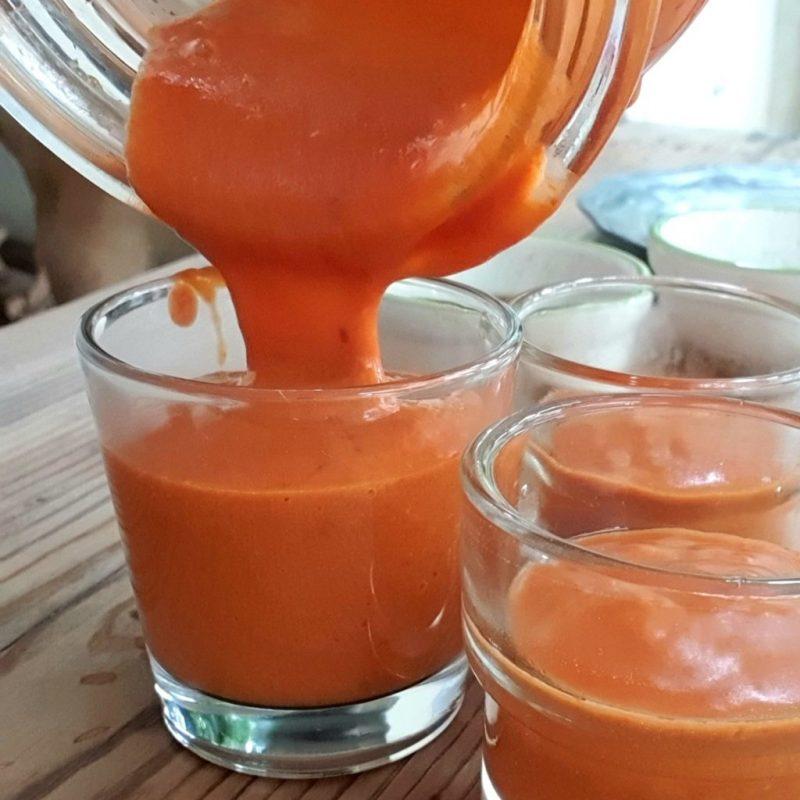 semifreddo ai peperoni rossi