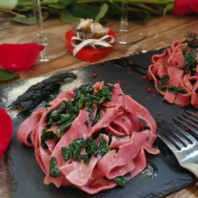 pappardelle rosa